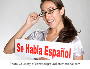 BEING BILINGUAL AT WORK